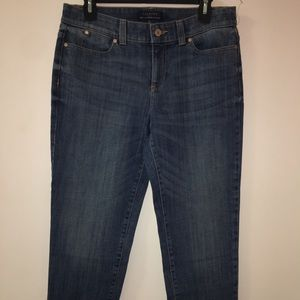 NWOT Talbots simply flattering 5 pocket  jeans